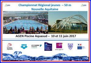 5 nageurs qualifiés pour le championnat régional jeunes les 10 et 11 juin à Agen