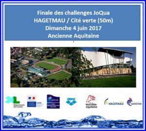 14 nageurs à la Finale des JOQUA Hagetmau 4 juin 2017