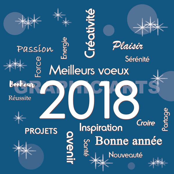 Très belle année 2018