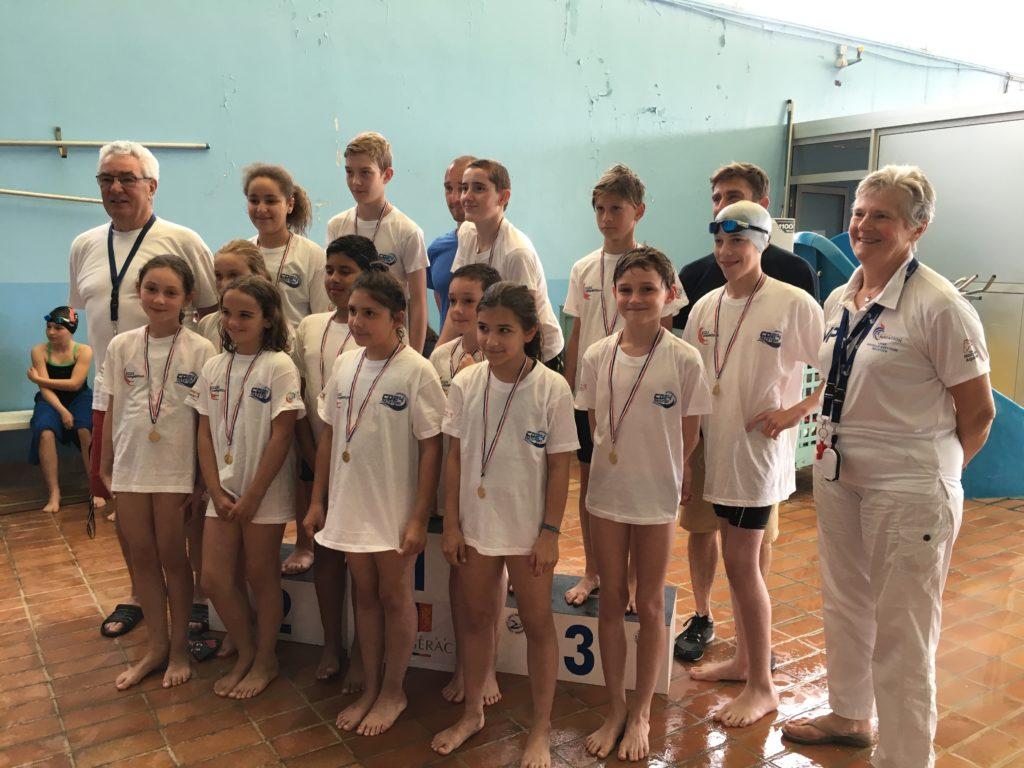 Pass compétition : 100% de nos nageurs reçus le 26 mai dernier