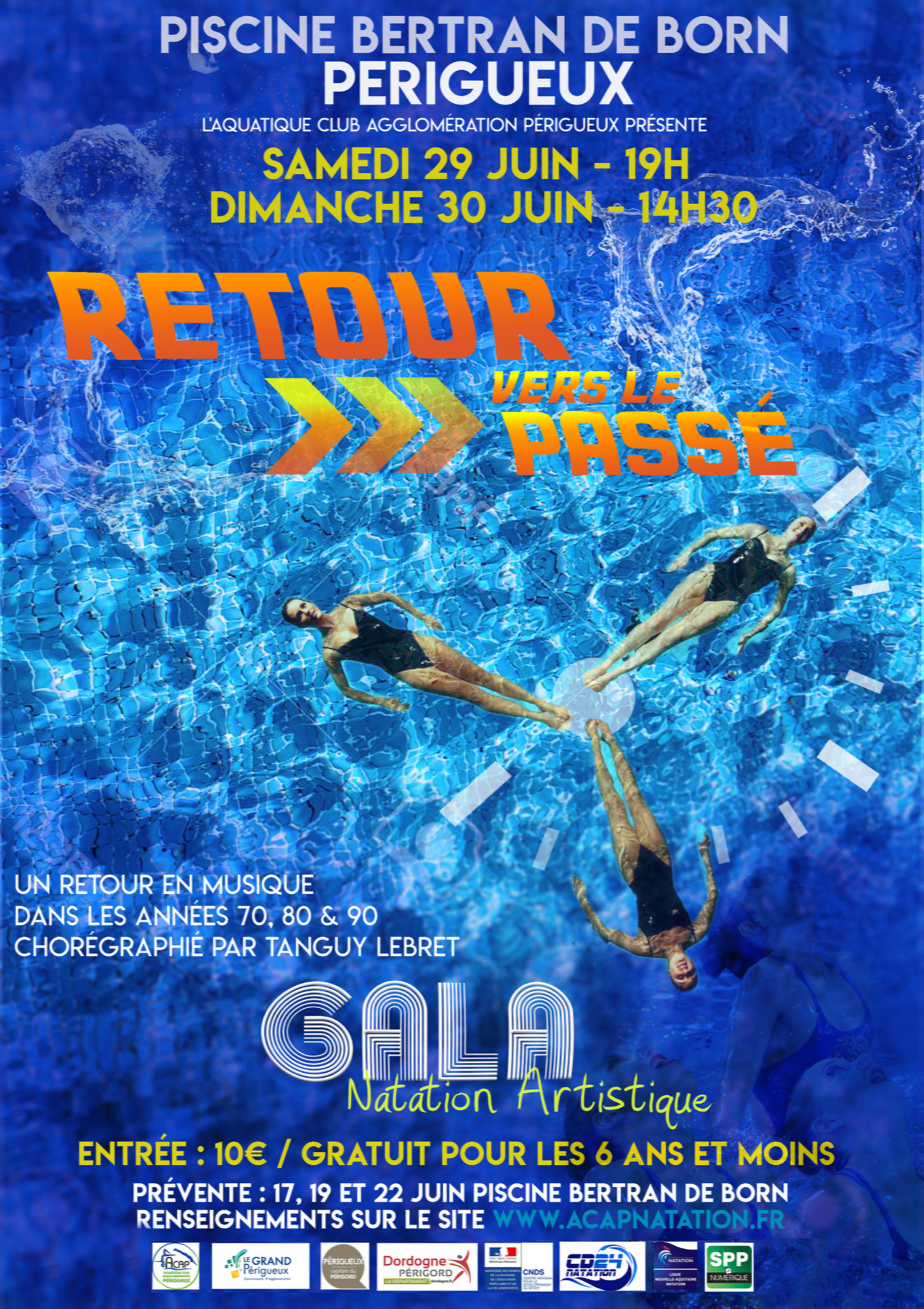 Gala annuel de natation artistique